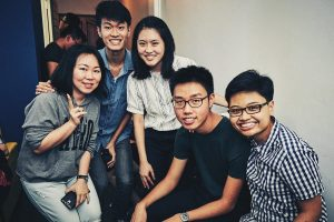 music school singapore piano teacher with students
