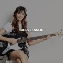 Female bassist