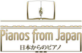 Pianos from Japan