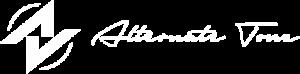 Altrenate Tone logo white