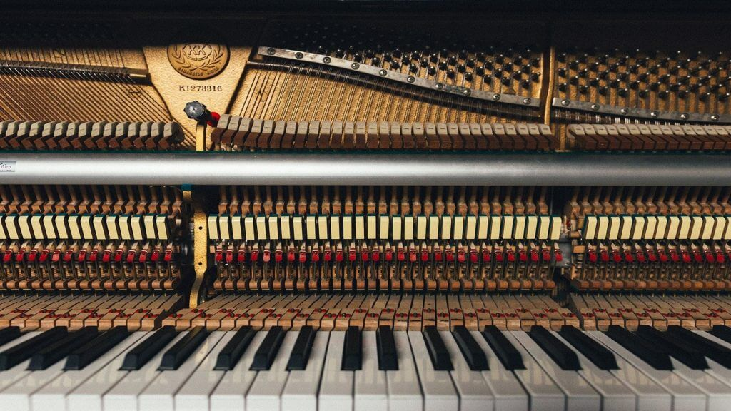 Part of piano